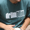 Drum Bum Logo T-shirt Green