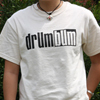 DRUM BUM Logo T-Shirt Natural